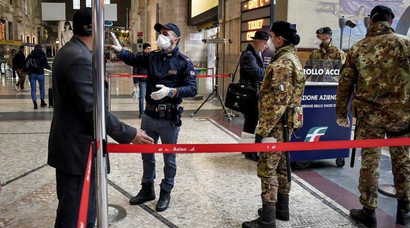 Вся Италия на карантине