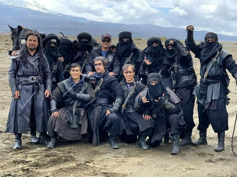 Казахстанские каскадеры показали фото и видео со съемок фильма «Мулан» студии Disney